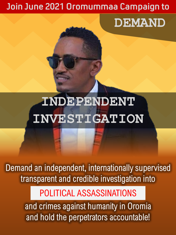 Demand Independent Internationally Supervised Investigation …