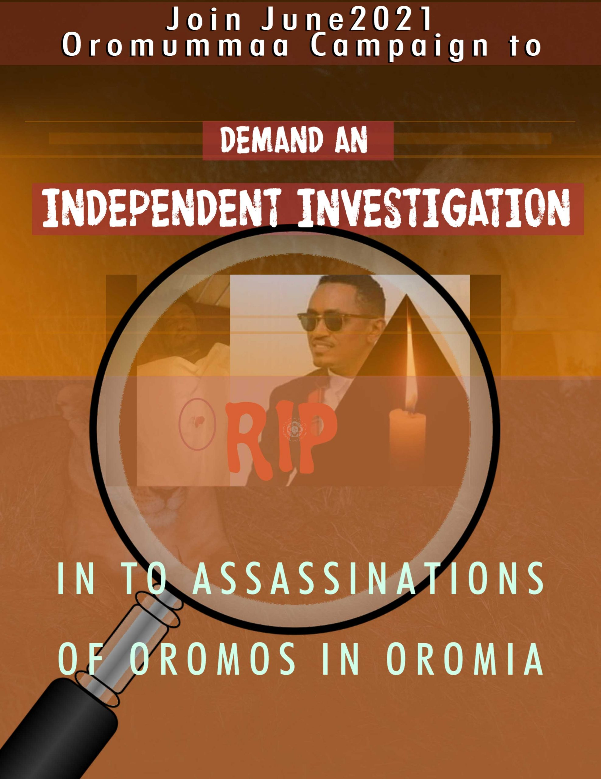 Demand an Independent Investigation into Assassinations of Oromos in Oromia
